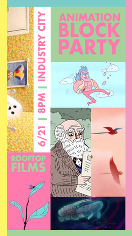 Rooftop Films Series: Animation Block Party