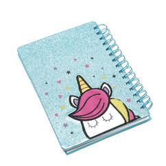 Unicorn A5 spiral diary