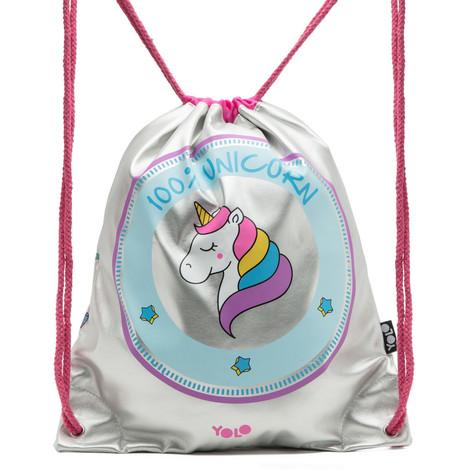 Drawstring bag unicorn