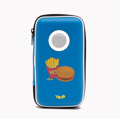 Speaker case hamburger