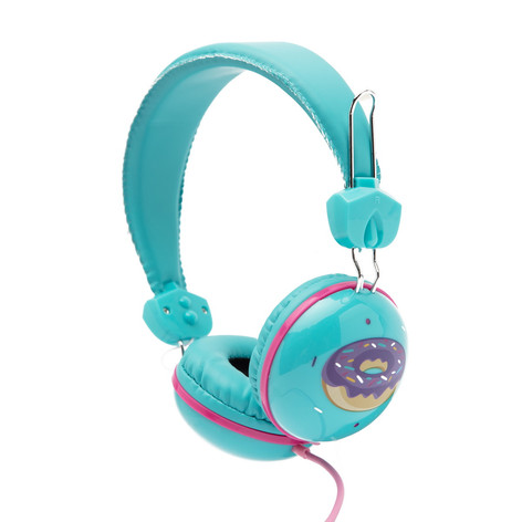 Retro headphones donut
