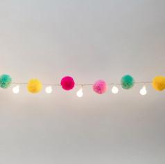Pompom light chain