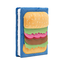 Hamburger 3D A5 diary