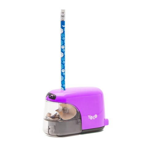 Auto light sharpener purple
