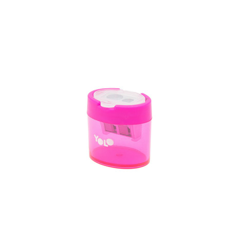 Small container sharpener pink
