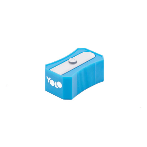 Plastic sharpener blue