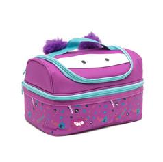 Double decker hero purple bag