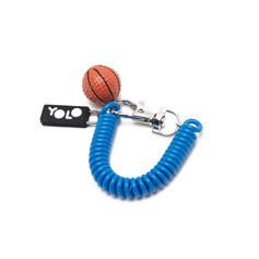 Sling key ring basketball
