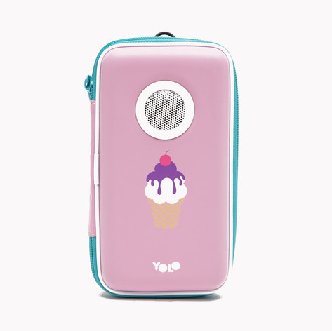 Speaker case ice cream