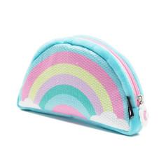 Rainbow soft pencil case