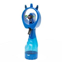 Water spray blue