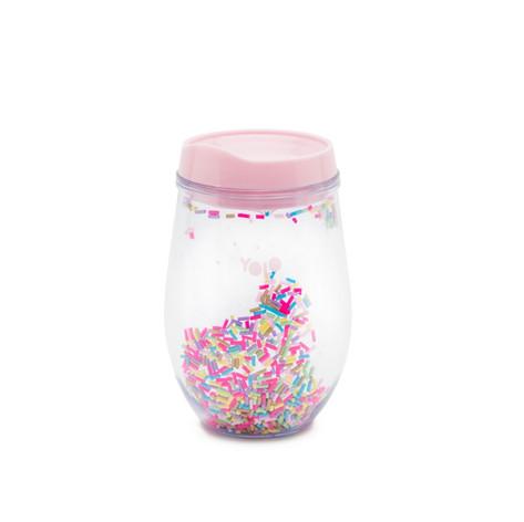 Sprinkles plastic cup