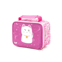 Rectangle lucky cat lunch bag