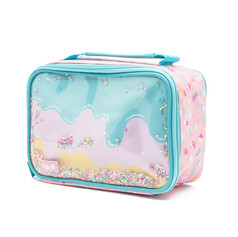 Rectangle sprinnkle ice cream lunch bag