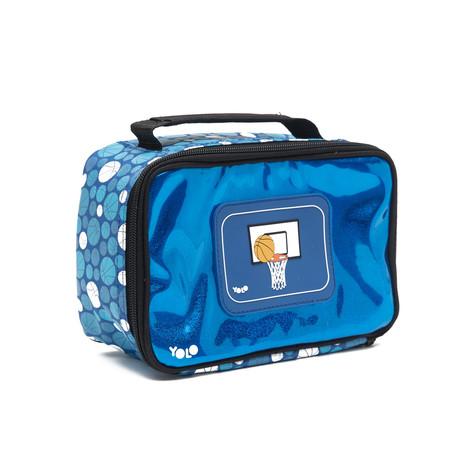 Rectangle basketball lunch bag