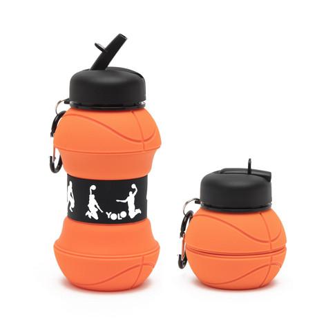 Silicon basketball bottle