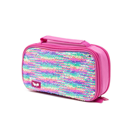 Suitcase rainbow sequin