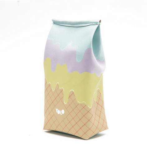 Ice cream pencil case