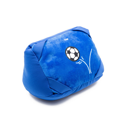 Tablet pillow soccer turn to neck pillow