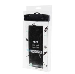 Waterproof phone bag black