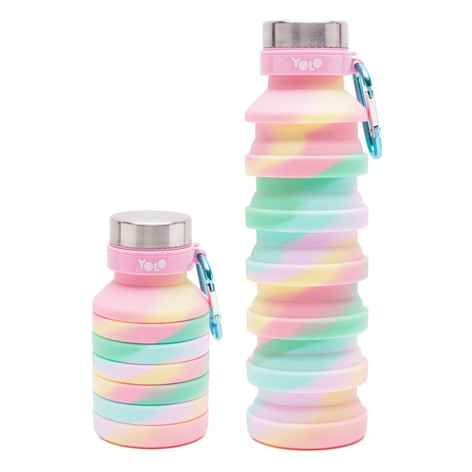 Silicon pastel diagnoal bottle
