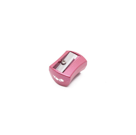 Metallic small sharpener pink