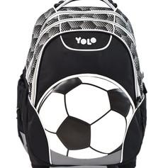 Trolly school bag soccer