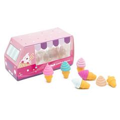 Ice cream erasers set