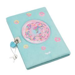 Donut sprinkles lock A5 diary