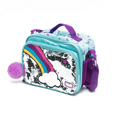 Two cells rainbow lunch bag