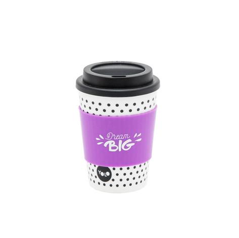 Take out mug white