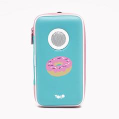 Speaker case donut