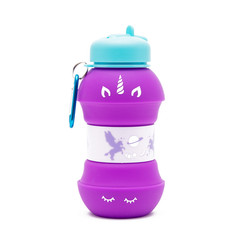 Silicon unicorn bottle