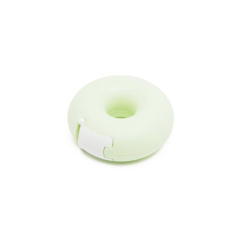 Donut tape holder yellow