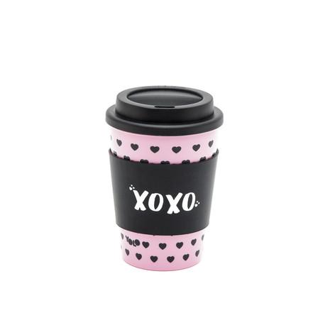 Take out mug pink