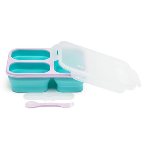 Silicon 3 cells box pastel blue