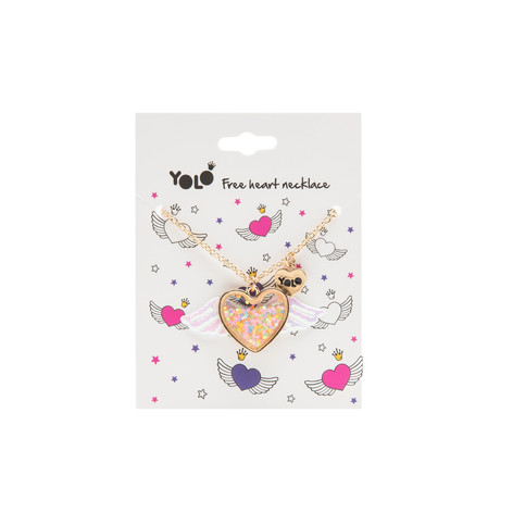 Free heart necklace