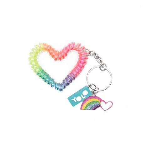 Sling key ring heart
