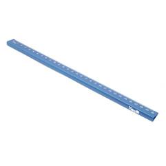 15/30 cm metallic ruler blue