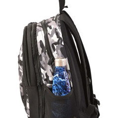 2 in 1 Camouflage backpack side