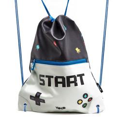 Drawstring bag gaming start