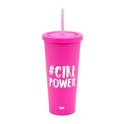 Fun take out cup pink