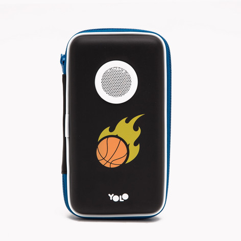Speaker case baskeball