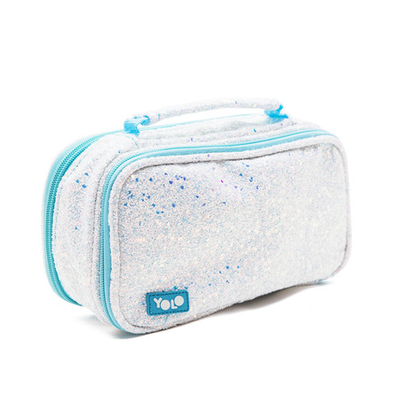 Suitcase rough glitter