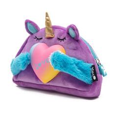Unicorn squishy soft pencil case