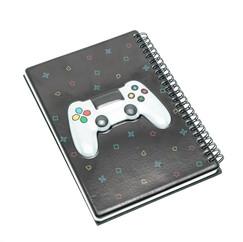 Gaming A5 spiral diary