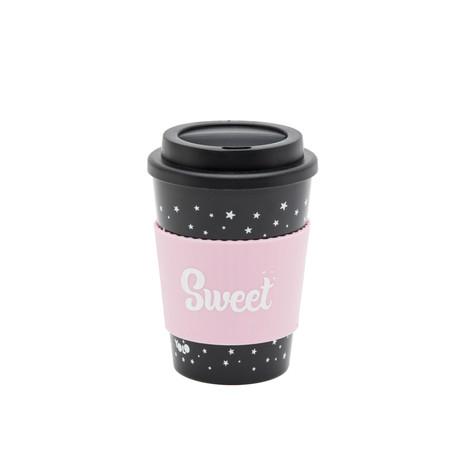 Take out mug black