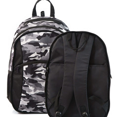 2 in 1 Camouflage backpack seperated