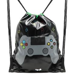 Drawstring bag gaming
