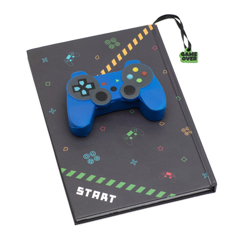 Gaming squishy A5 diary